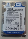 Disco duro SATA de 160 Gb para portátil - foto