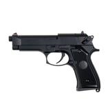Pistola saigo 92 beretta electrica negra - foto