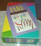 Juego de mesa tabÚ de mb aÑo 1992 - foto