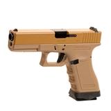 Pistola we 17 v2 gas metal tan - foto