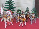 Playmobil partida indios apaches - foto