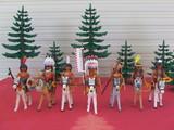Playmobil partida de indios sioux - foto