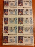 Loteria Año 2000 completo en billetes - foto
