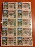 Lotería año completo 1978  en billetes - foto