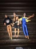 Lote 3 muñecos Action Man - foto