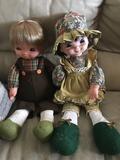 Muñecos famosa - foto