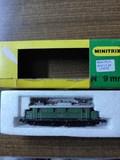 Locomotora db digital minitrix 144-e44 - foto