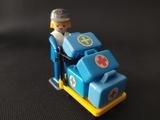 Playmobil estación tren viaje - foto