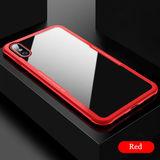 funda protectora roja iPhone X y XS - foto
