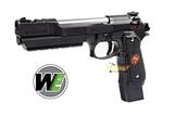Pistola we m92 biohazard extended negra - foto