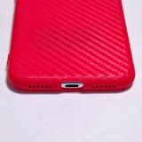 Carcasa posterior roja Iphone X y XS - foto