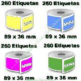 Etiquetas compatibles Con Dymo 99012 - foto