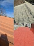 arreglo con poliuretano tejados - foto