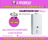 CALENTADOR DE GAS ASPES 5L - foto