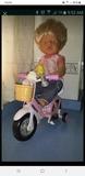 Baby born +  bicicleta - foto