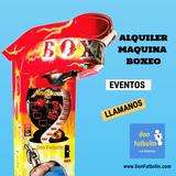 Alquiler maquina recreativa boxeo events - foto
