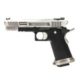 Pistola we hi-capa 5.1 rex long plata - foto