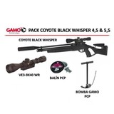 Gamo coyote black whisper pcp 4.5 y 5.5 - foto