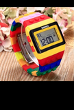 Relojes modelo lego varios colores - foto