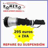 suspension neumatica mercedes s frontal - foto