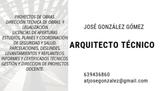 AQUITECTO TECNICO.   DOCENTE.  PROYECTOS - foto