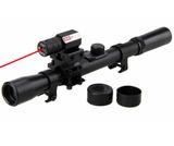 Mira telescÓpica para rifle con láser - foto