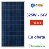 Panel Solar 330W 24V 72 celdas - foto