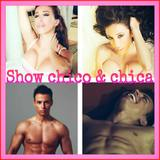 Chico y chica stripers - foto
