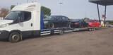 transporte coches motos vehículos grua - foto