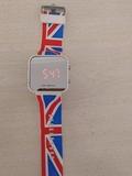 Watch LED caucho Great Britain digital - foto