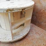 mesa circular expositor - foto