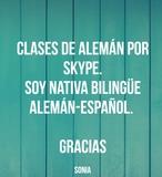 CLASES DE ALEMÁN POR SKYPE.  - foto