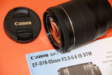 Canon EF 18-55mm F:3,5-5,6 IS STM - foto