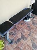 vendo pesas y tabla de ejercicios - foto