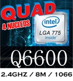 775 Intel Core 2 Quad Q6600 2.4ghz/8m - foto