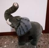Peluche elefante grande - foto