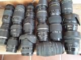 Varios objetivos Canon EF - foto
