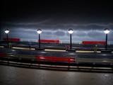scalextric iluminacion - foto