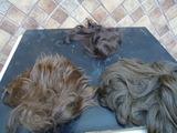 3 lotes pelucas para  muñecas de pelo n - foto