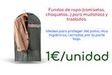Fundas mudanza chaquetas ropa economicas - foto