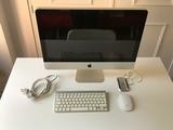 """iMac 21,5\"""" (finales 2009)+teclado+ratón - foto"""