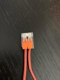 conector para cables - foto