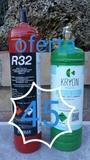 REFRIGERANTE R410A R134A R32 R407C - foto