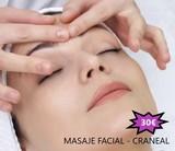 Masaje facial y craneal con profesional - foto