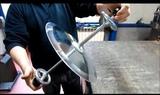 afilador de cuchillos - foto