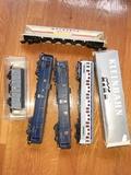 Locomotora y vagones escala H0 - foto