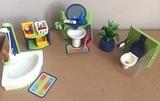 Original conjunto playmobil de baÑo - foto