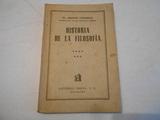 HISTORIA DE LA FILOSOFÍA(DR.  A. CASANOVA) - foto