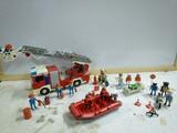 Playmobil bomberos,médicos,policías... - foto