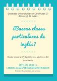 CLASES DE INGLÉS DESDE INICIACIÓN A B2 - foto